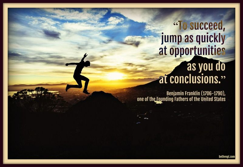 In Others' Word Don't Jump To Conclusions That Is Beth K Cool Jumping To Conclusions Quotes