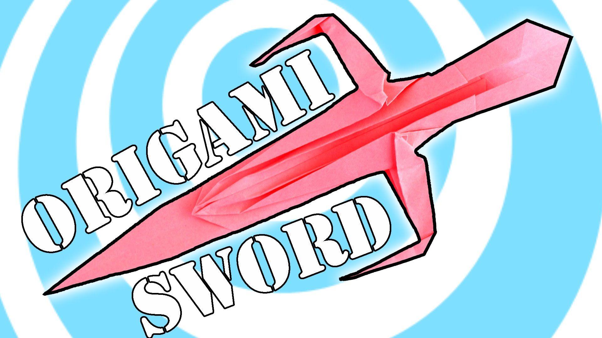 Diy Paper Origami Ninja Sword Instructions Origami Origami