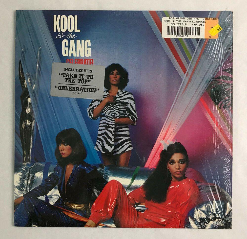 Kool The Gang Celebrate Vinyl Record R B Disco Nm Mint 1980 Open Shrink Wrap Disco
