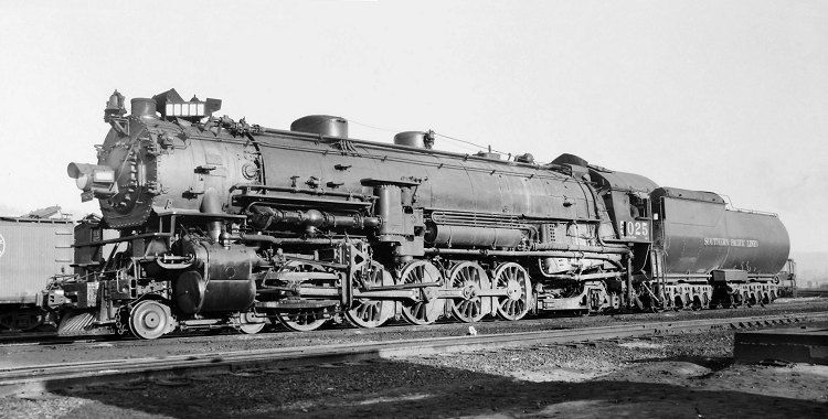 Richard Leonard S Random Steam Photo Collection Southern Pacific 4 10 2 5025 Railroad Photography Steam Train Pictures