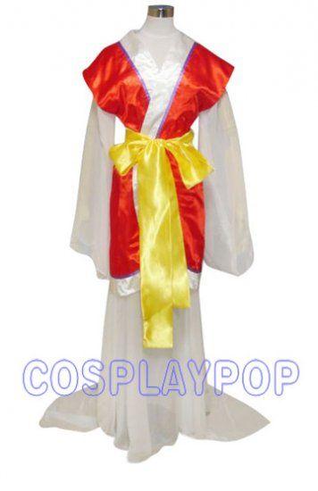 Costume in Fushigi Yugi Miaka Yuki As Psychic for Cosplay