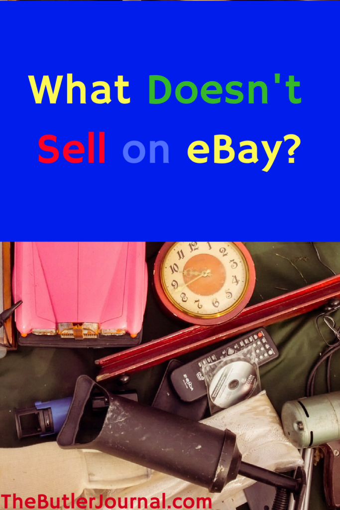 As you probably know by now I enjoy selling items on eBay. Everything doesn't always sell. Today, I want to go over what doesn't sell on eBay.