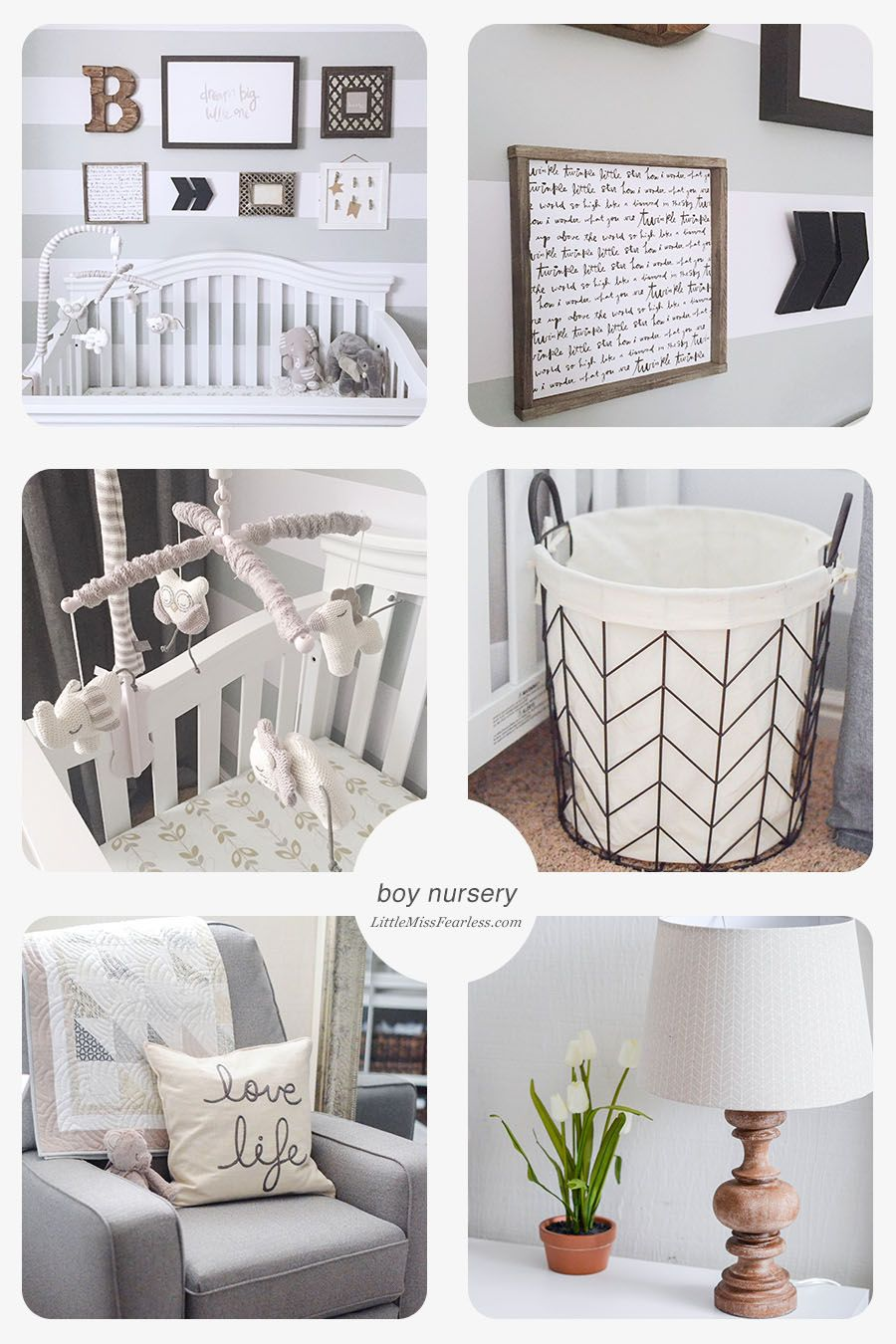 how to transform a small room into the perfect baby nursery wall
