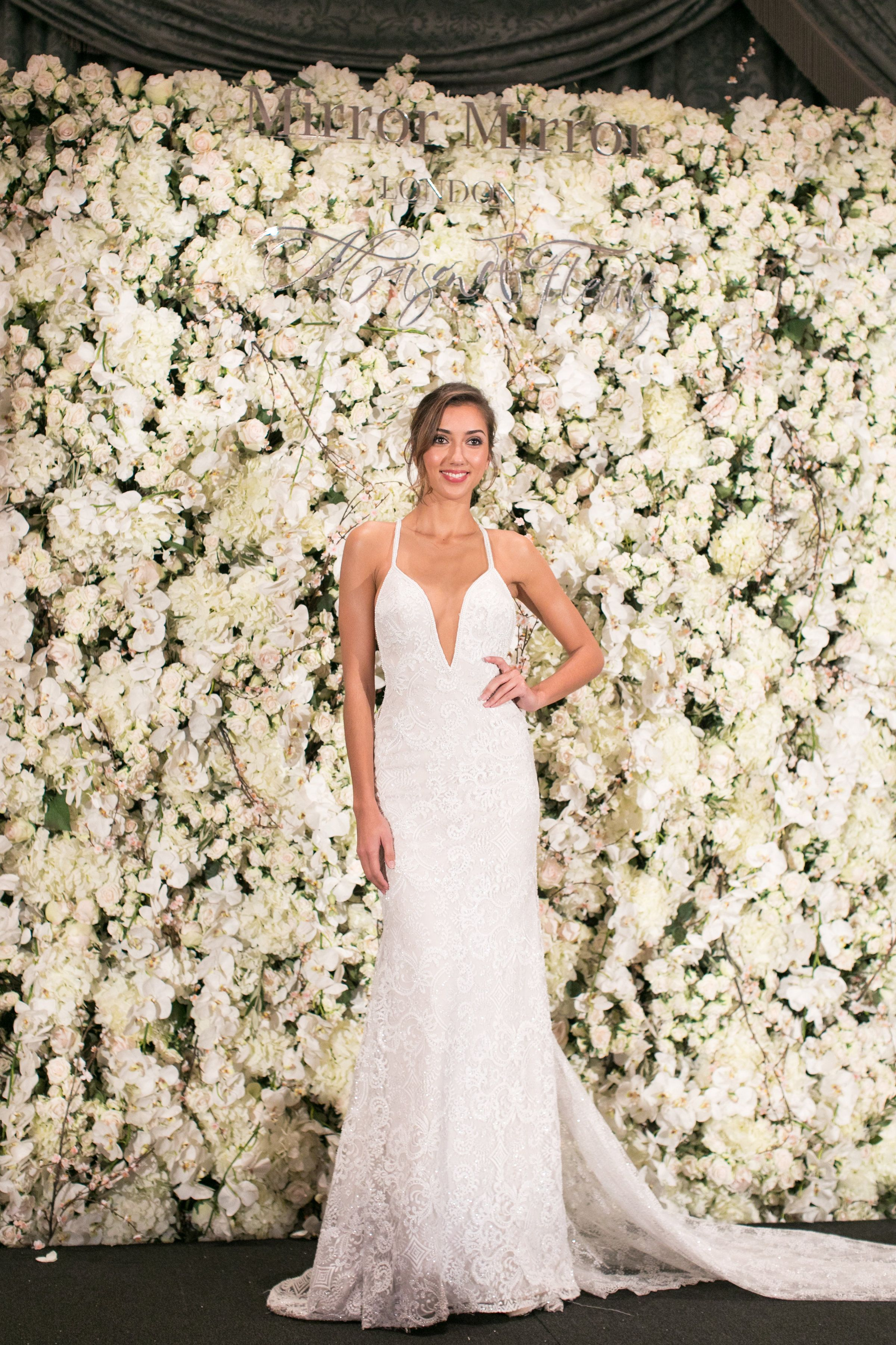 """collection """"Ivory&White"""" by Nurit Hen, fashion show arranged by @mirrormirrorcouture and @bridesmagazine photographers: RobertaFacchini - http://www.robertafacchini.com #mirrormirrorcouture #Bridesmagazine #thesavoylondon.     2017 collection """"Ivory&White"""" WWW.NURIT-HEN.COM Nurithenofficial@gmail.com"""