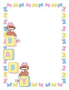 baby girl Page Borders free - Bing images | page | Pinterest ...