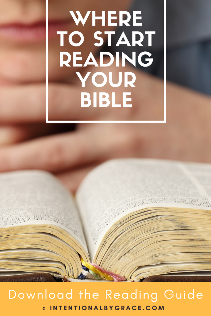 Where to Start Reading Your Bible #bible
