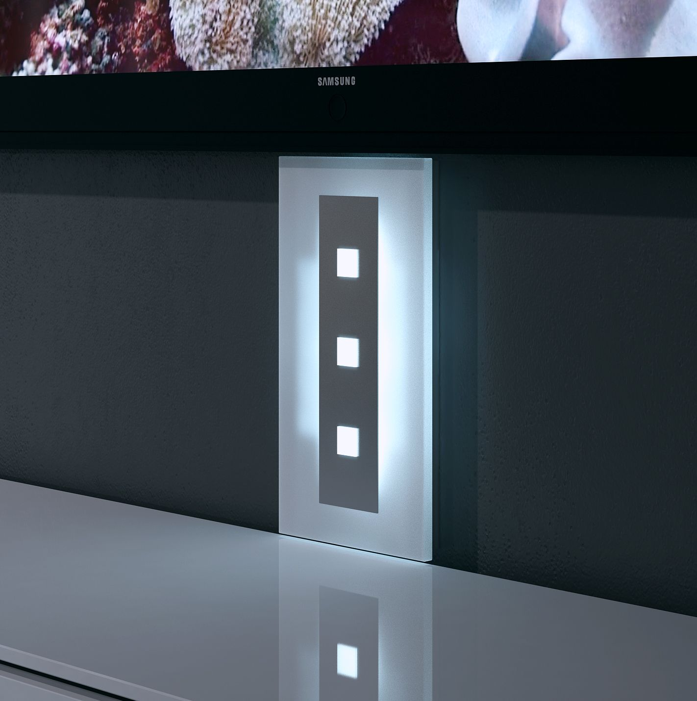 Pin Von Visioglas Auf TV Kabelkanal Aus Glas Mit LED