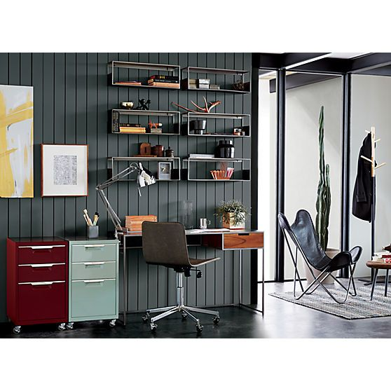 tps mint 3drawer filing cabinet with modern office furniture and colorful