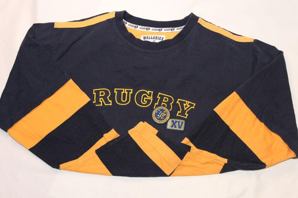 Wallabies Rugby Jerseys XL Australian Cooper Sports Navy