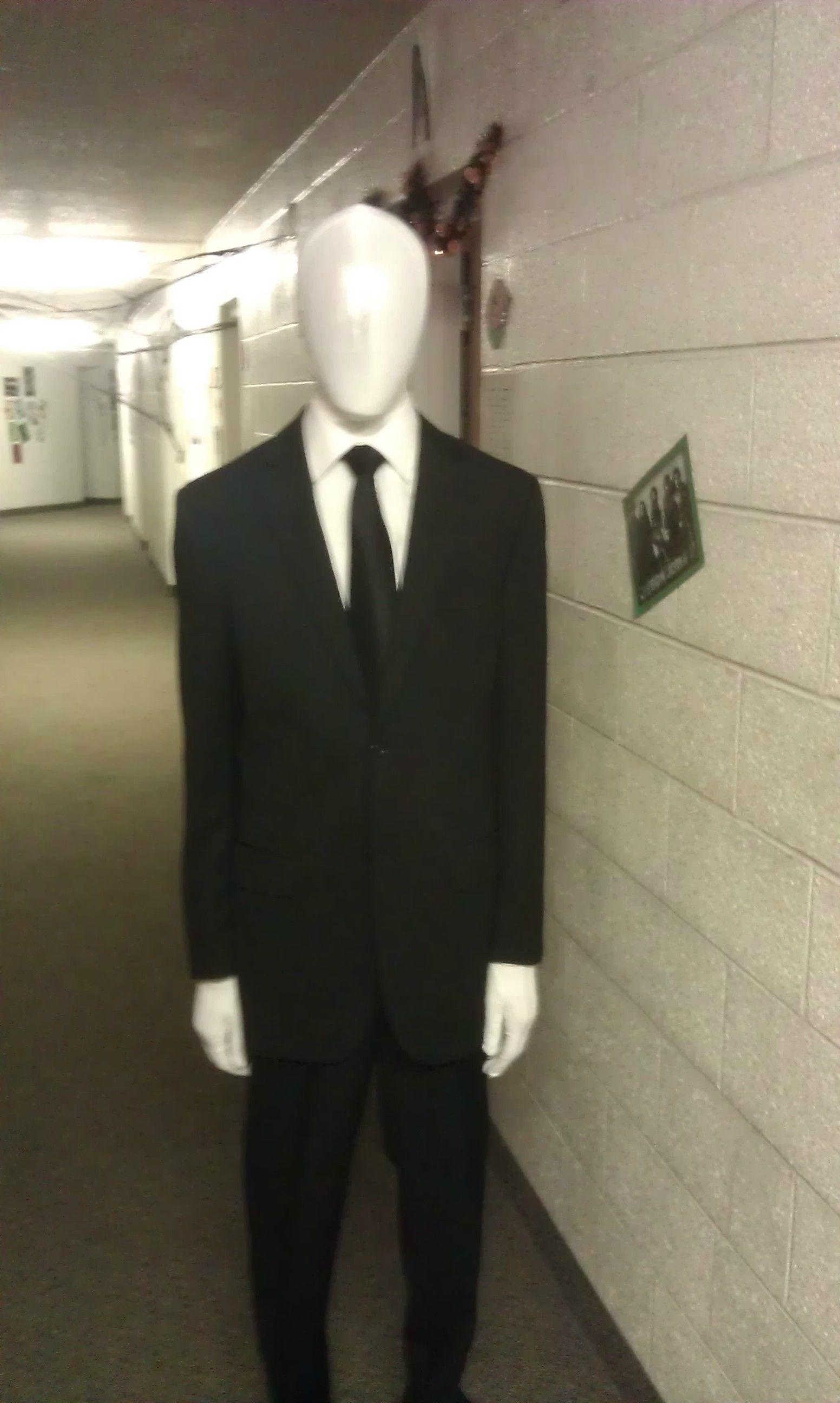 image result for slenderman costume - Halloween Costume Slender Man