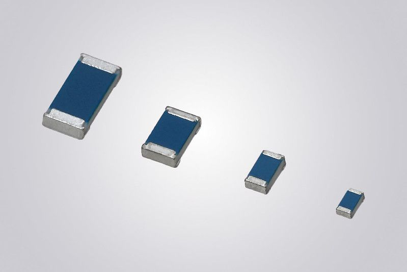 Vishay Intertechnology Extends Resistance Range Of Mca 1206 At Precision Series Thin Film Chip Resistors In 2020 Thin Film Resistors Electronics Components