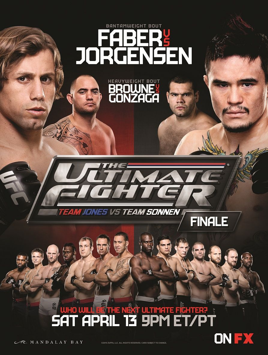 The Ultimate Fighter 17 Finale Live From Las Vegas Ufc Ultimate Fighter Ufc Events