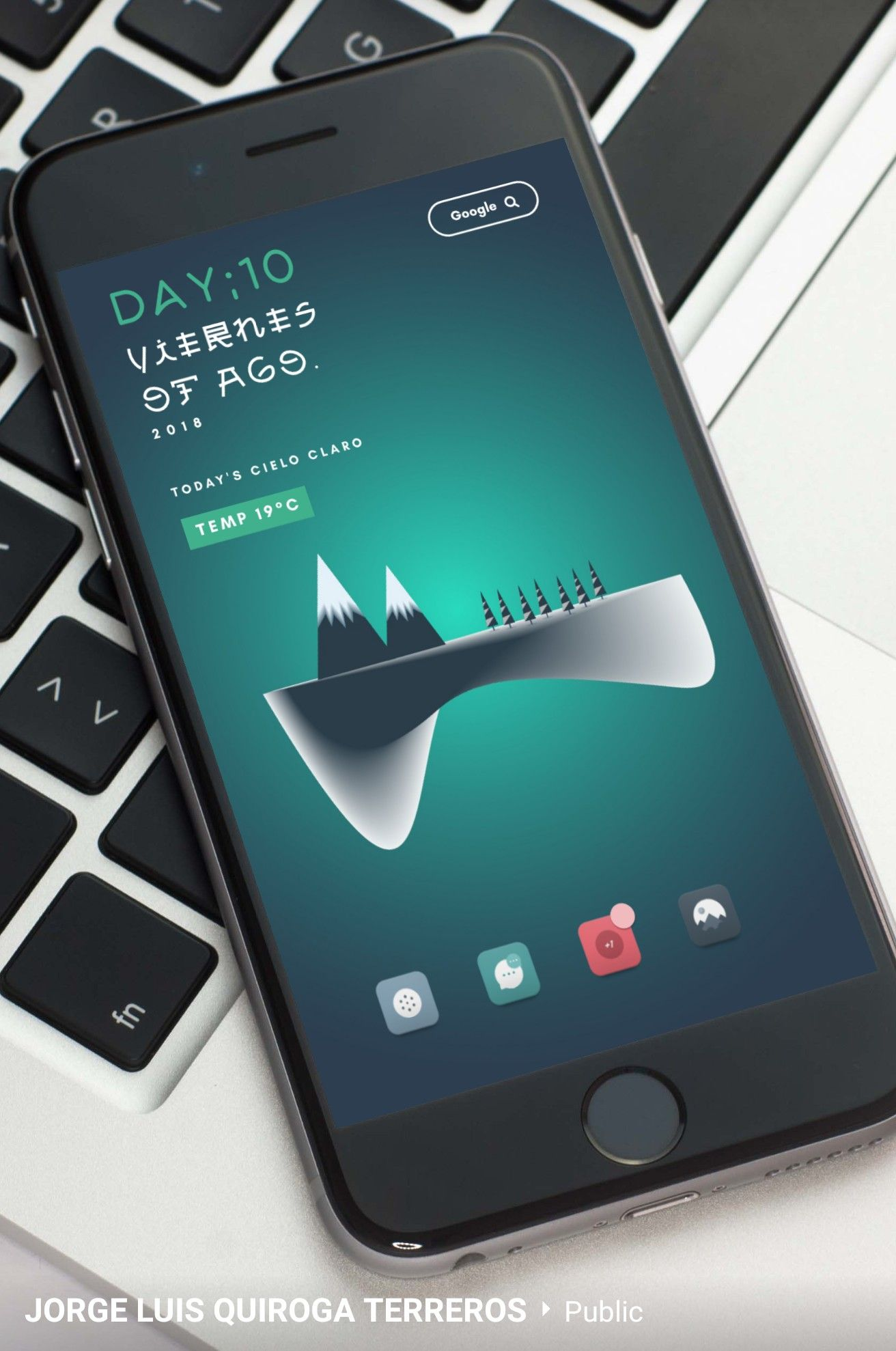 Homescreen mobile ui ux design apps android app also pin by ronald webb on home screen pinterest rh