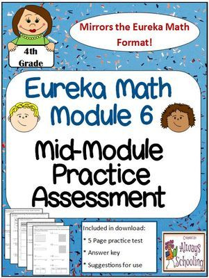 4th+Grade+Eureka+Math+Module+6+Mid-Assessment+Practice+Test+from+