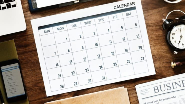Back to Basics Your Calendar (With images) College
