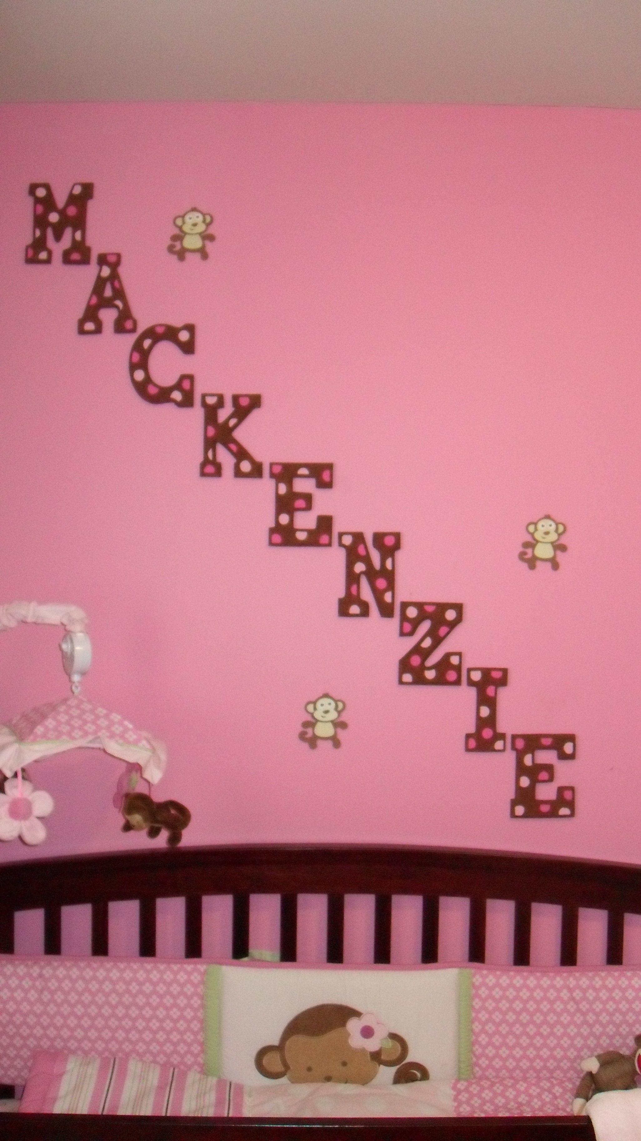 Diy Wooden Letters Lt 3 Nursery Room Decor