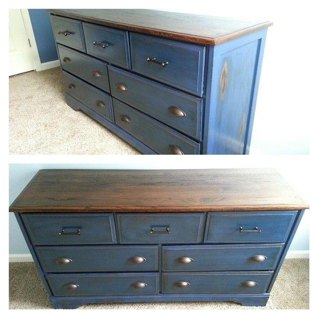 $50 Craigslist Dresser For My Son's Big Boy Bedroom.