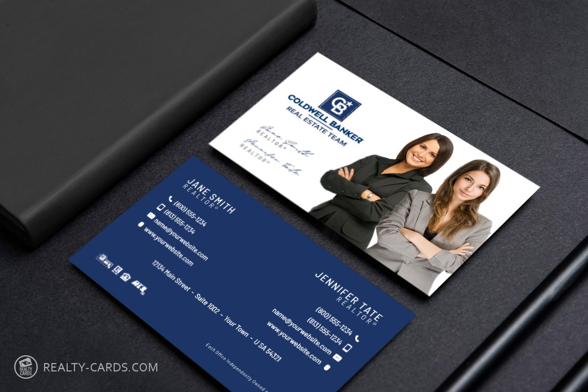 The Inspiring New Coldwell Banker Logo Business Cards Intended For Coldwell Bank Business Cards Online Business Card Template Design Transparent Business Cards