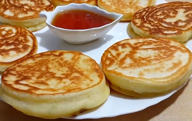 طريقة عمل فطائر اللبن الروسية للفطور عجيبة بدون فرن Food Desserts Pudding