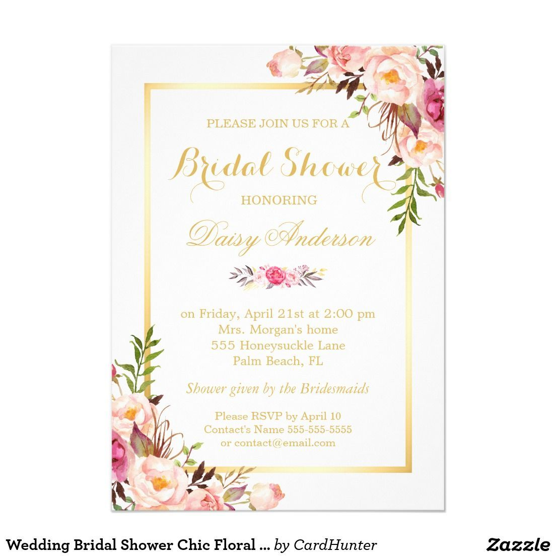 Beautiful Bridal Shower Invitations To Fit Your Bride S Style Shop