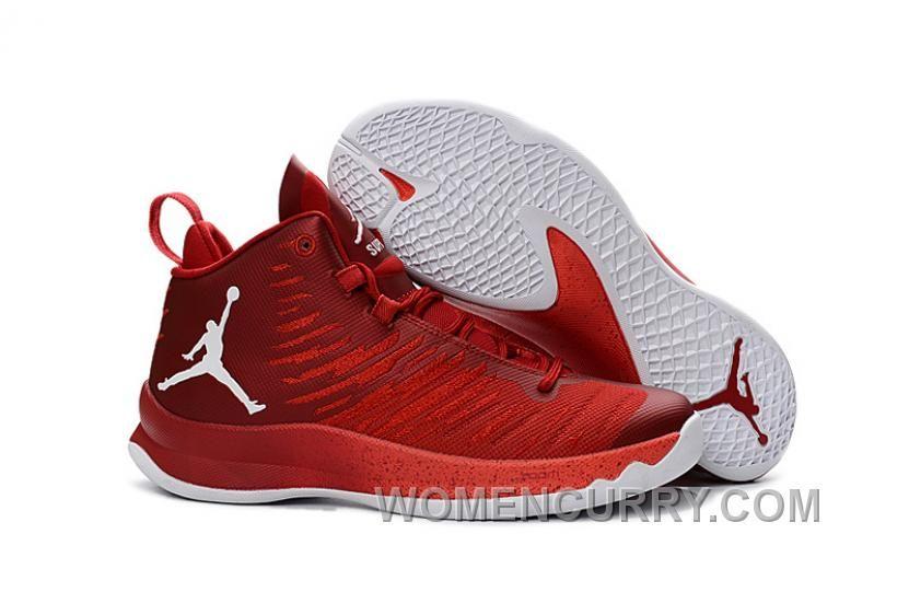Chaussures De Basket Jordan Super.Fly 4 Noir Rouge Noir Site