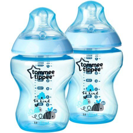 Tommee Tippee Closer To Nature 9 Oz Decorated Baby Bottles Bpa Free Boy 2 Ct Walmart Com In 2020 Baby Bottle Set Baby Bottles Tommee Tippee