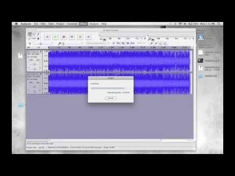 How to Remove Vocals from mp3 Song using Audacity - Song