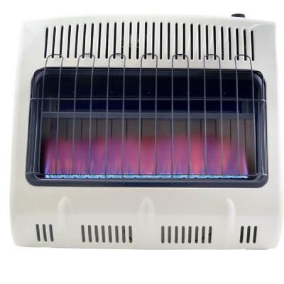 Wall Heater Natural Gas Blue Flame