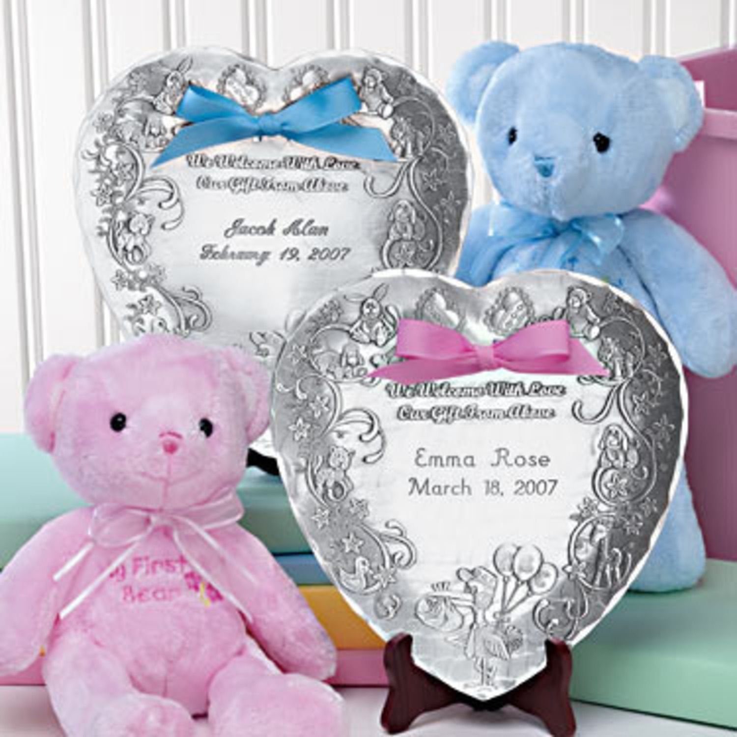 A great gift to commemorate the birth of a baby celebrate your baby gift ideas and engraved baptism gifts negle Image collections