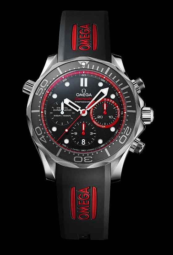 ab93738b582d Omega Unveils New Limited-Edition Seamaster Diver for 34th America s  Cup.... aww man!