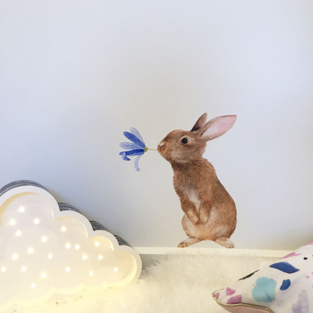 bunny wall sticker arlo and co graphics pinterest wall bunny wall sticker arlo and co