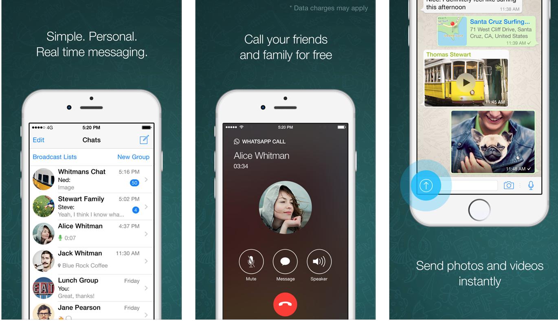 Aplicatia WhatsApp pentru iPhone a fost actualizata Iphone
