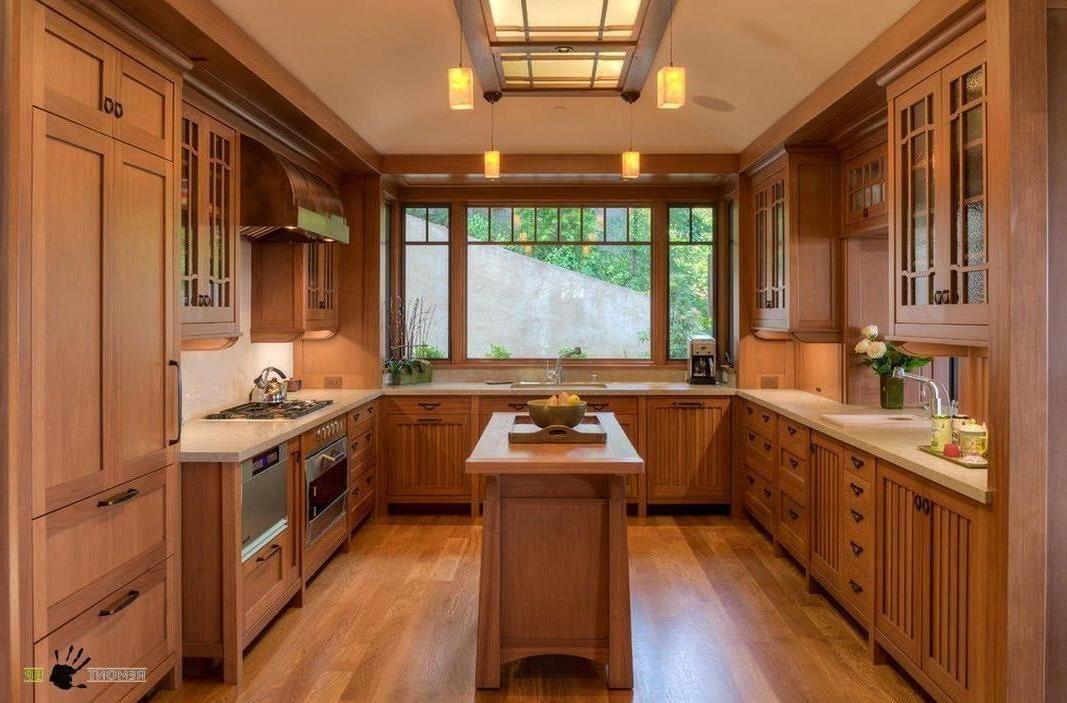 Small U-shaped Kitchen with Island   Kitchen Island ...
