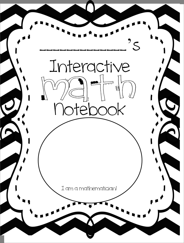 First Grade Wow Interactive Math Notebook