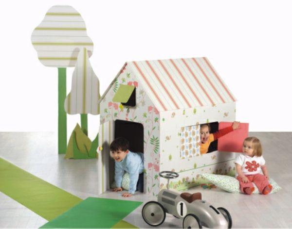 spielhaus papphaus ikea kinderzimmer pinterest spielhaus ikea und kinderzimmer. Black Bedroom Furniture Sets. Home Design Ideas