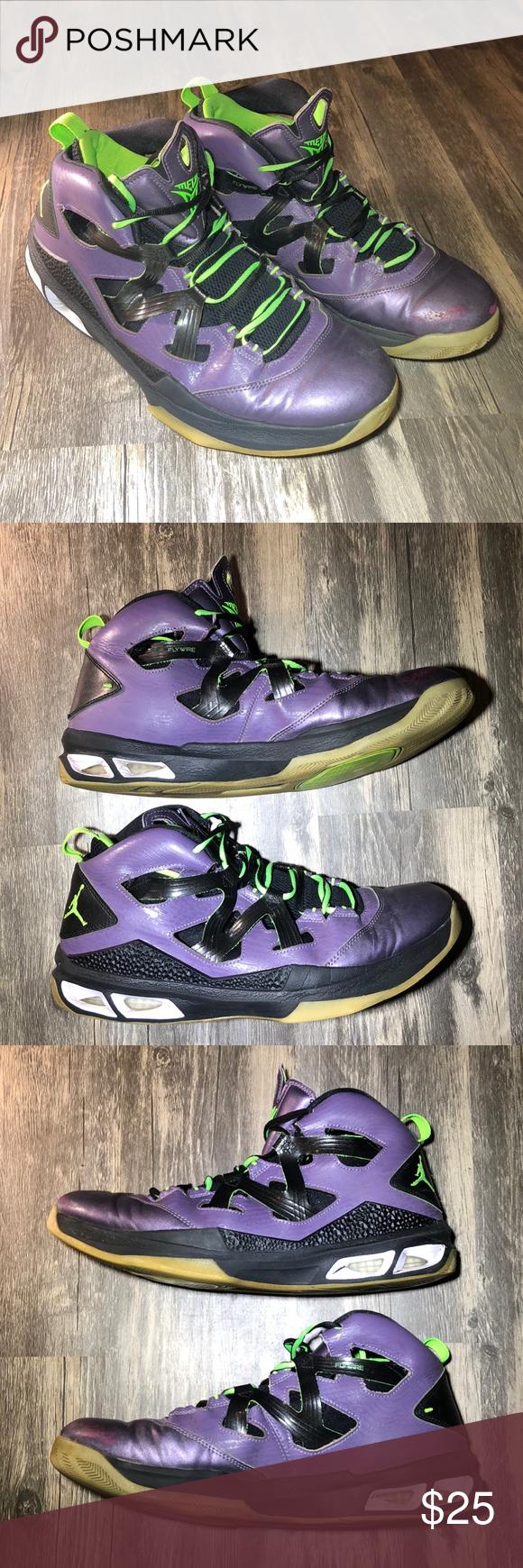 cheap for discount 3c6af efe7f Air Jordan Nike Jordan Melo M9 Blacklight Pre-owned (no box) Jordan Melo