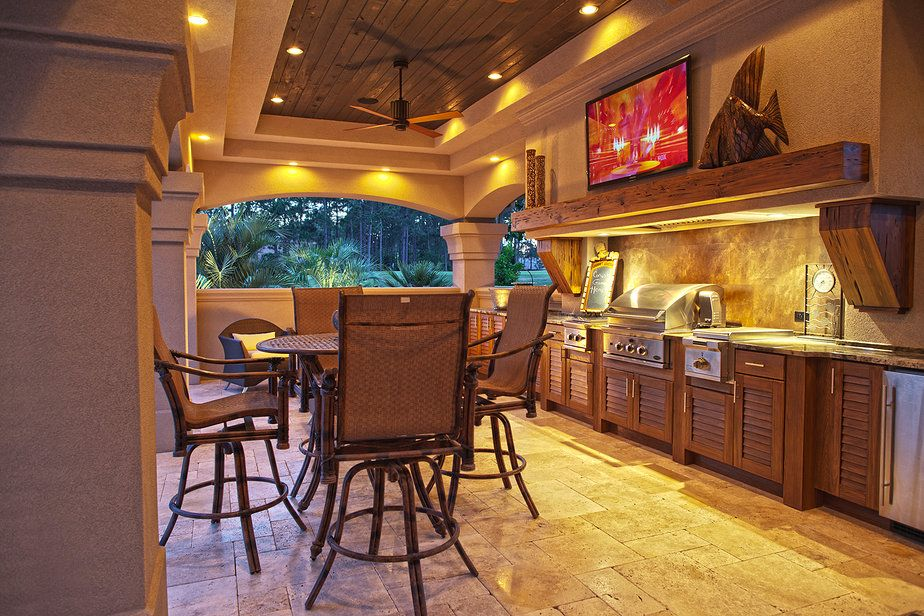 The Great Outdoor Kitchen | JeanE Kitchen and Bath Design ...
