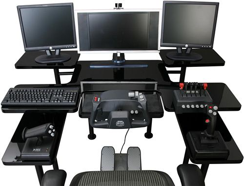 outlet store f9b9c 0e58a Gaming Desks | Gaming Desks | Gaming computer desk, Custom ...