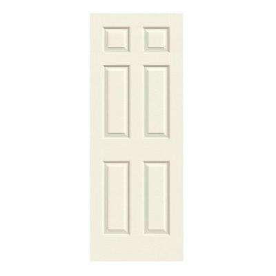 28 In X 80 In Molded Textured 6 Panel French Vanilla Hollow Core Composite Interior Door Slab Prehung Interior Doors Doors Interior Buy Interior Doors