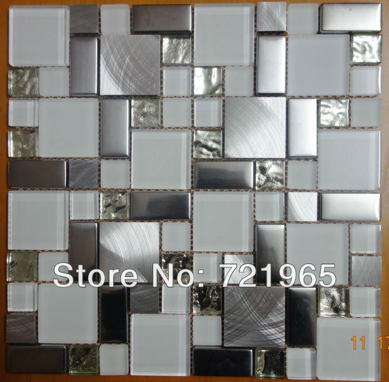 Gl Mosaic Kitchen Backsplash Tile