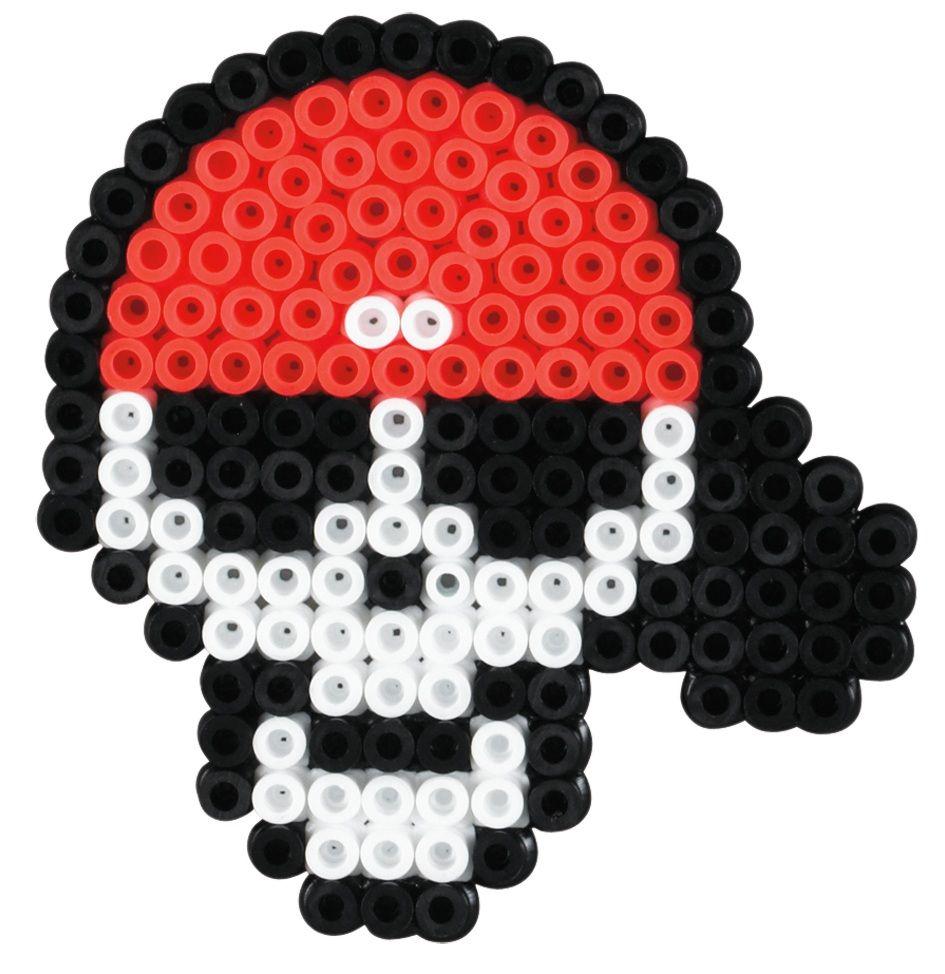 Calavera Pirata HamaBeads | Plantillas HamaBeads faciles ...