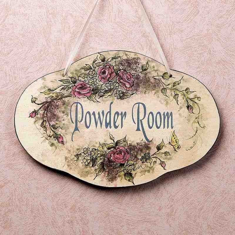 Bathroom Plaques Wall Decor