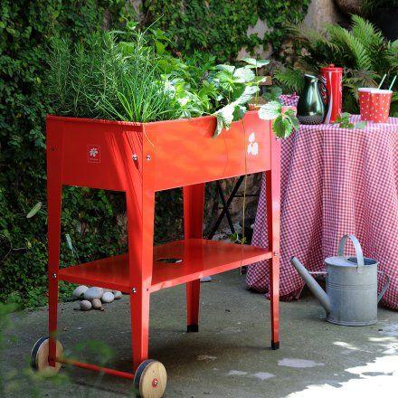 Hochbeet Mit Rollen Urban Garden Trolley Online Kaufen Bestellen Sie Hochbeet Mit Rollen Urban Garden Trolley Gunstig Ab 90 97 Hochbeet Pflanzen Pflanztisch