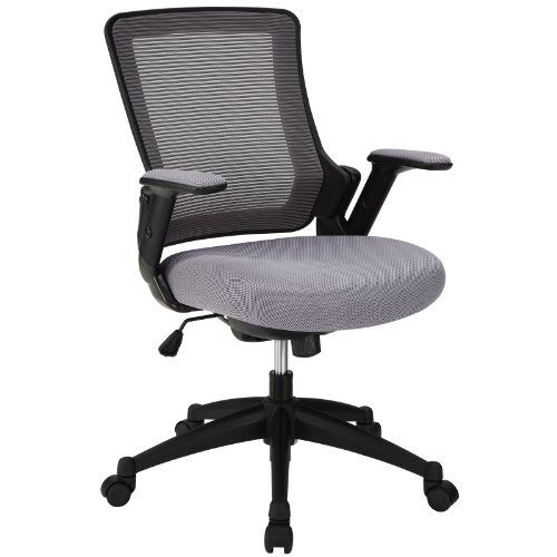 Modway Aspire Office Chair With Mesh Back And Gray Padded Seat Read More At The Image Link Note It Is Affiliate Link To Amazo Chair Desk Chair Leather Bean Bag Chair