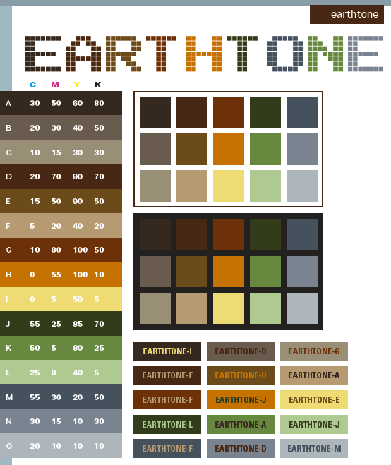 Earth tone color schemes color combinations color palettes for earth tone color schemes color combinations color palettes for print cmyk and fandeluxe Images