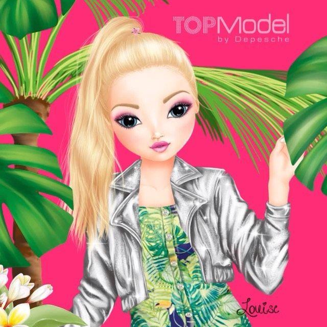 topmodel ausmalbilder louise  tiffanylovesbooks