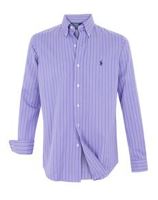 Hombre Camisa De Lauren Corte Camisas Ralph El Polo kXuOZTPi