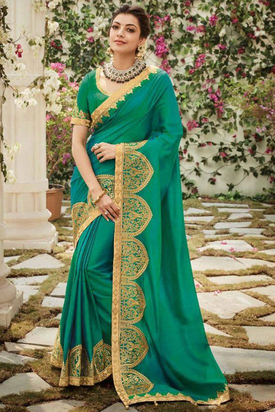 Kajal Aggarwal in Saree photos South Indian Actress in