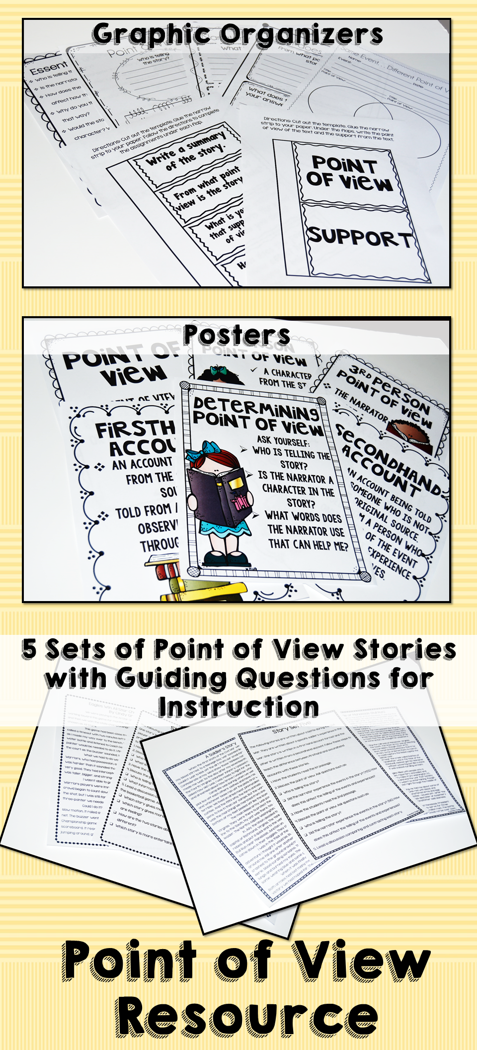 worksheet Point Of View Worksheet 4th Grade point of view resources graphic organizers language arts and resources