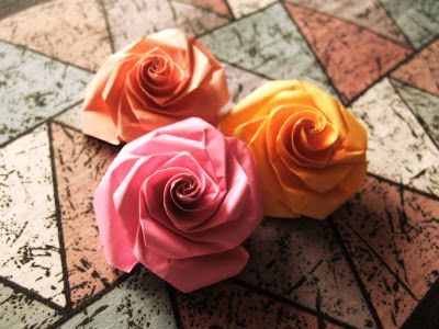 Photo of Origami Rose By Stephen Weber
